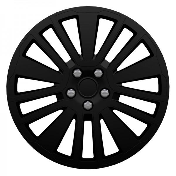 J-Tec 4-Delige Wieldoppenset Scuba SR 16-inch zwart