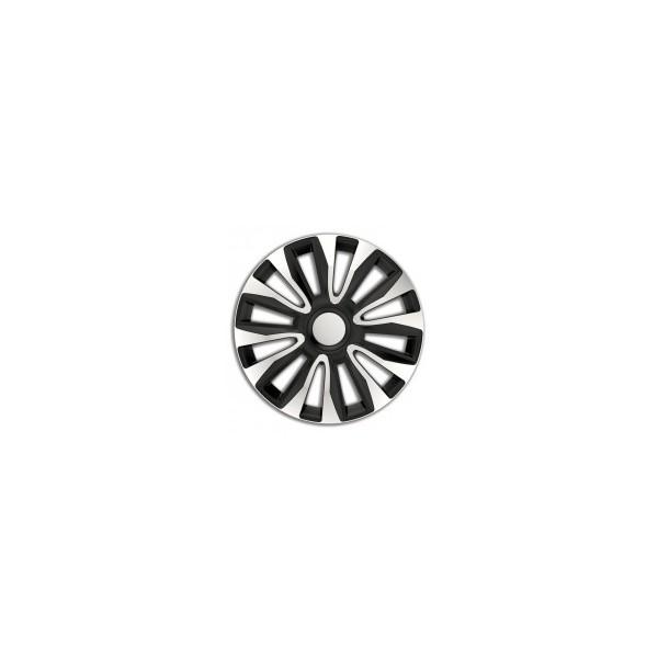 Wieldoppenset Avalone 14-inch zilver/zwart